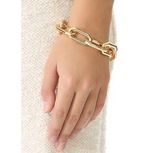 Rachel Zoe Gold Link Bracelet Brand New Stunner